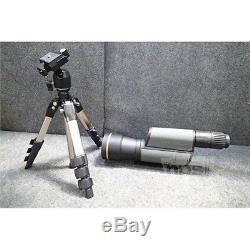 Leupold Golden Ring Spotting Scope Kit, 20-60x80mm, Shadow Gray