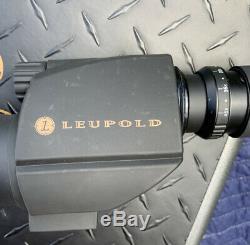 Leupold Green Ring Sequoia Spotting Scope 15-45x 60mm Angled Eyepiece Black