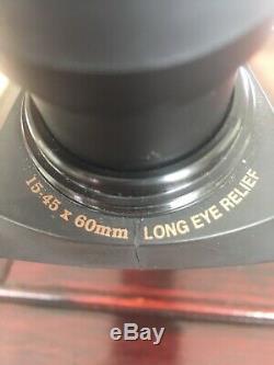 Leupold Green Ring Sequoia Spotting Scope Straight Eyepiece Black 15-45x60mm