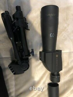 Leupold Green Ring Wind River Sequoia 60mm Straight Spotting Scope with 15-45x