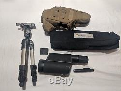 Leupold Mark 4 12-40x60mm Spotting Scope with Leupold compact tripod & scope cover
