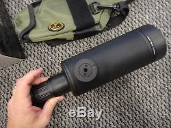 Leupold Mark 4 12-40x60mm Tactical Scout Sniper Spotting Scope MIL Dot 53756 New
