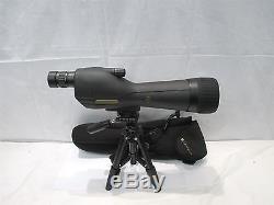 Leupold SX-1 Ventana 20-60x80mm Straight Spotting Scope With Case & Tripod