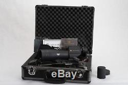 Leupold Sequoia Green Ring Spotting Scope with tripod and Leupold Hard Case