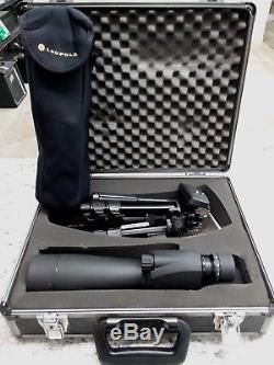 Leupold Sequoia Spotting Scope, Wind River, 15-45x 60mm, with case & tripod