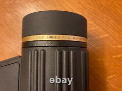 Leupold Variable Gold Ring 12-40x60mm Spotting Scope Hard Case Shoulder Mount