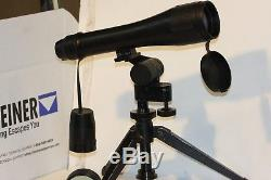 M144 Spotting Scope. 14-45 x 60 zoom ex u. S. Military. High quality