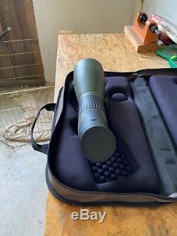 Meopta MeoPro HD 20-60x80 Angled Spotting Scope with Case Excellent Condition