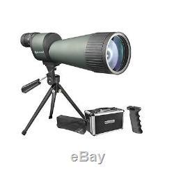 NEW Benchmark 25-125x88 Fog/Waterproof Straight Spotting Scope Telescope Barska