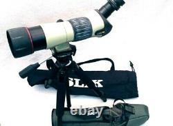 NIKON FIELDSCOPE ED with case, 25-75x Zoom Eyepiece + Slik Sprint Pro EZ Tripod