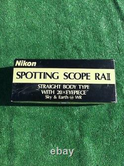 NIKON SPOTTING SCOPE RAll 20X