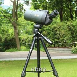 New Spotting Scope 25 75x70 SV41 Monocular Telescope Refraction Zoom BAK4 Prism