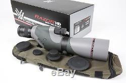 New Vortex Razor HD 16-48x65 Spotting Scope (Straight) No Reserve