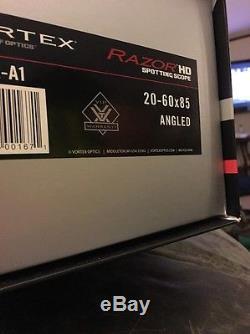 New Vortex Razor Hd 20-60x85 Angled Spotting Scope