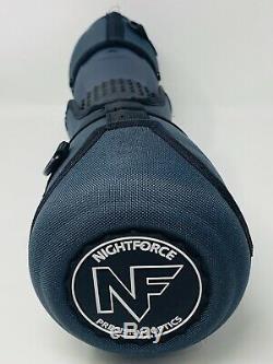 NightForce TS-82 20-70x Xtreme Hi-Definition Spotting Scope, Dark Grey