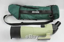 Nikon 7452 Sky & Earth 80mm Angled Spotting Scope & Case 20-60x Zoom