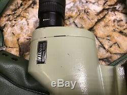 Nikon D=60P Eyepiece Fieldscope #735 with the Case Made in Japan Great