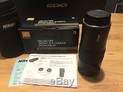 Nikon EDG 85 Fieldscope Spotting Scope Kit FSA-L2 and FAP-20W