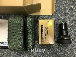 Nikon Fieldscope ED 25-75x82 Straight Spotting Scope Box Case Japan Pristine