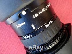 Nikon ProSraff Spotting Scope, With Tripod, 16X 32X 48X