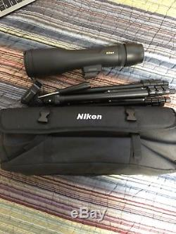 Nikon Prostaff 3 16-48x60 Spotting Scope Kit Straight Viewing 6983 NEW! $289.95