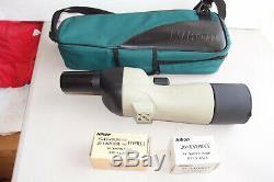 Nikon Sky and Earth RAII 60mm spotting scope 15-45X +20X fixed