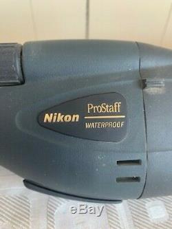 Nikon prostaff waterproof spotting scope DA=82P