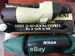 Nikon spotting Scope RAll 15-45 X zoom eyepiece