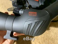 Redfield 20-60x80 Rampage Angled Spotting Scope Kit, waterproof (black) 114651
