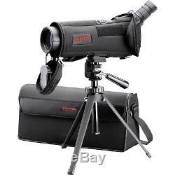 Redfield Rampage Spotting Scope, Angled Eyepiece 20-60x80 Kit withCase & Tripod