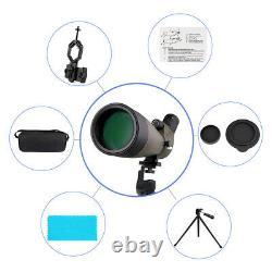 SVBONY SV13 20-60x80mm Zoom Spotting Scopes FMC Waterproof+Cell Phone Adapter