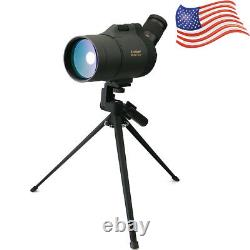 SVBONY SV41 25-75x70 MAK BaK4 prisms Spotting Scope Mini Monocular FMC+Tripod US