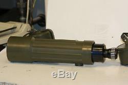 SWAROVSKI 30 X 75 spotting scope. RAZOR SHARP. SMALL PACKAGE BIG VIEW
