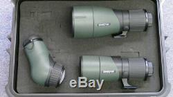 SWAROVSKI ATX SPOTTIN SCOPE PACKAGE WITH 65 and 85 mm LENS FREE HARD CASE