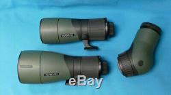 SWAROVSKI ATX SPOTTING SCOPE PACKAGE WITH 65 and 85 mm LENS FREE HARD CASE