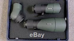 SWAROVSKI SPOTTING ANGLED SCOPE with65mm &95mm OBJECTIVE LENS-CARBON FIBER TRIPOD