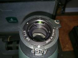 SWAROVSKI STS 80 Spotting Scope with 20-60MM Lens