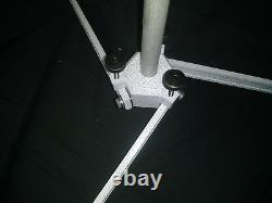 Scope stand ADJUSTABLE LEGS 7/8 rod-High Power-Small-bore Gray/White, PRS