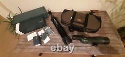Swarovski 20-60x65mm Spotting Scope with 20x60 Eyepiece & Case, Tripod, Box