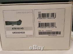 Swarovski ATM 65 HD Spotting Scope with 25-50X Wide Angle Eye Piece