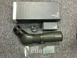 Swarovski ATS 65 HD Angled Spotting Scope 20-60x Eyepiece Boxes Caps Demo Unit