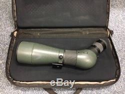 Swarovski ATS 80 HD Spotting Scope Angled 20-60x Eyepiece Case Excellent