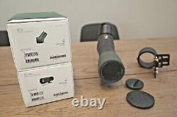 Swarovski ATX Spotting Scope with 65mm Objective Lens and digiscoping accessories