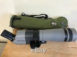 Swarovski-Habicht-ST-80-HD-Spotting-Scope-20-60 with tripod and case