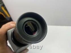 Swarovski Habicht ST 80 Spotting Scope 20-60x Eyepiece & Tripod & Pelican Case