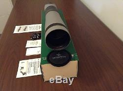 Swarovski Habicht ST80 Spotting Scope with 20-60x magnification