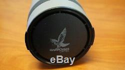 Swarovski Optik Habicht AT 80 with 20-60x Eyepiece Camera Attachment & Cover