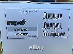 Swarovski Optik STM 80mm HD with25-50x Wide Angle Eyepiece stx