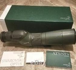 Swarovski Optik STS 65 HD 25-50X65mm Spotting Scope with eyepiece Straight View