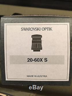 Swarovski Optik STS 80 HD Spotting Scope With 20-60 Eye Optic